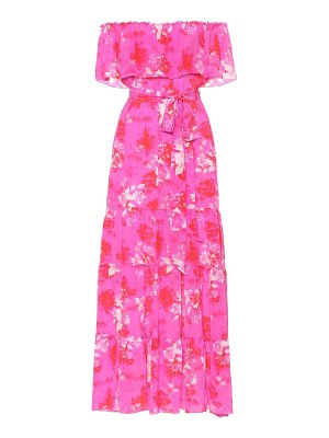 Athena Procopiou Melrose Sunset silk maxi dress