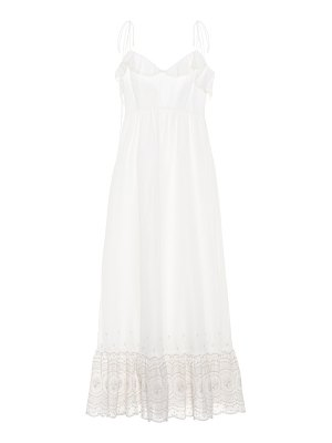 Athena Procopiou Sunday Morning cotton maxi dress