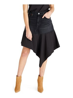 aTICA etica asymmetrical denim skirt