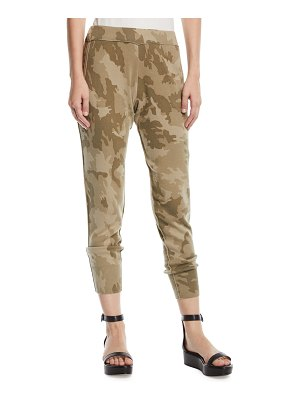 ATM Anthony Thomas Melillo Camo-Print Cotton Jogger Pants
