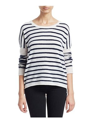 ATM Anthony Thomas Melillo cashmere color block pullover