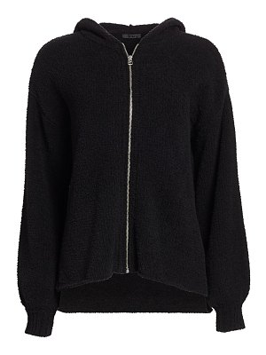 ATM Anthony Thomas Melillo chenille zip-up hoodie