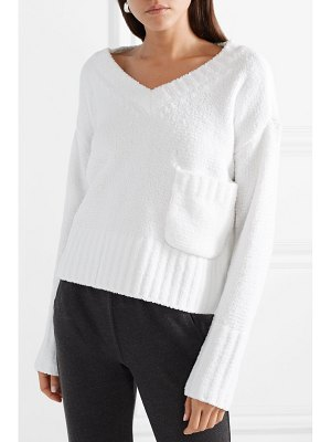 ATM Anthony Thomas Melillo cropped chenille sweater