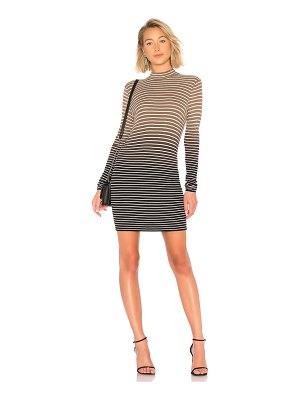 ATM Anthony Thomas Melillo Dip Dye Stripe Dress