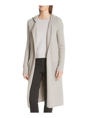 ATM Anthony Thomas Melillo felt wool blend hooded sweater coat