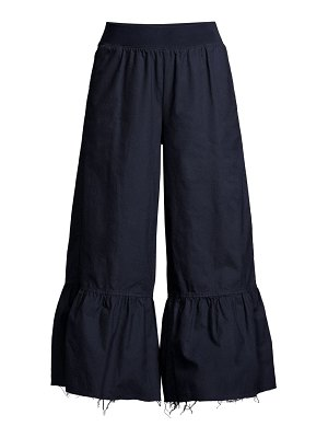 ATM Anthony Thomas Melillo flared bell cuff pants