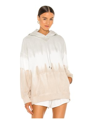 ATM Anthony Thomas Melillo french terry tie dye oversized pull over hoodie