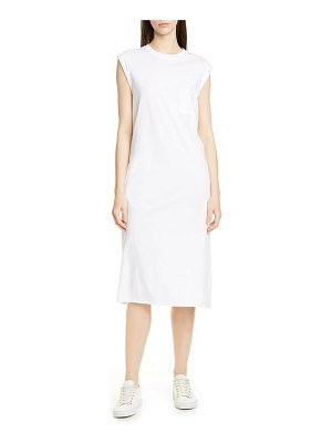 ATM Anthony Thomas Melillo high torsion cotton dress