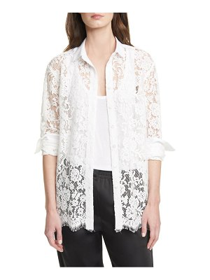 ATM Anthony Thomas Melillo lace front shirt