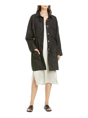 ATM Anthony Thomas Melillo paper cotton coat