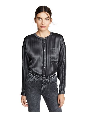 ATM Anthony Thomas Melillo silk striped shirt