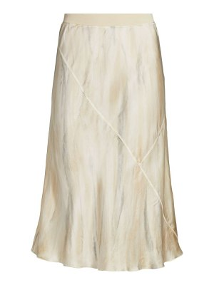 ATM Anthony Thomas Melillo silk water color midi skirt