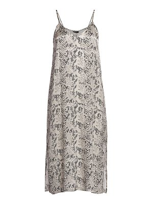 ATM Anthony Thomas Melillo snakeskin-print silk slip dress