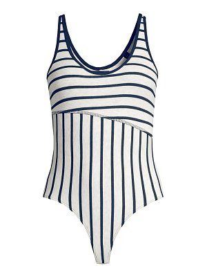ATM Anthony Thomas Melillo stripe bodysuit