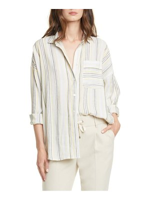 ATM Anthony Thomas Melillo stripe boyfriend shirt