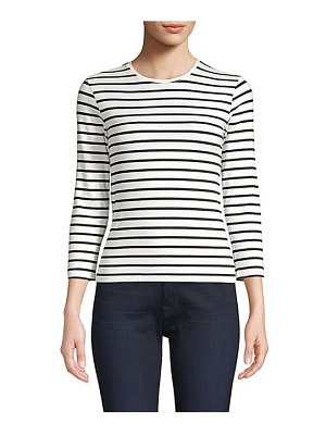 ATM Anthony Thomas Melillo stripe pima cotton-blend tee