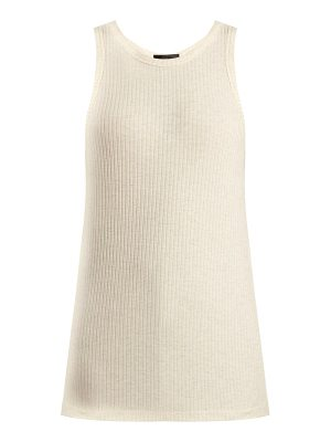 ATM Atm - Ribbed Jersey Tank Top