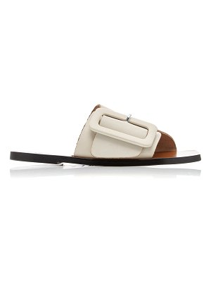 Atp Atelier ceci buckled leather slides
