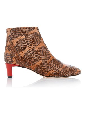 Atp Atelier clusia snake-effect leather ankle boots