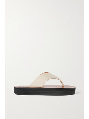 Atp Atelier melitto leather platform flip-flops