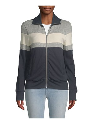 Atwell Colorblock Cotton Track Jacket