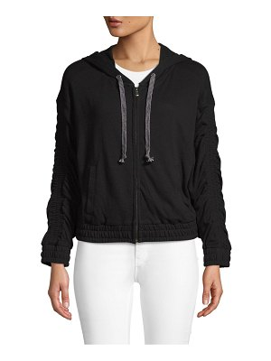 Atwell Hooded Zip Cotton Jacket