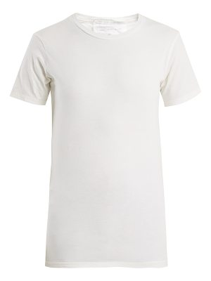 AUDREY LOUISE REYNOLDS Round Neck Cotton Jersey T Shirt