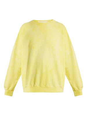 AUDREY LOUISE REYNOLDS Round Neck Cotton Sweatshirt