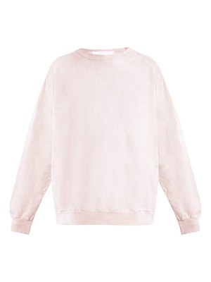AUDREY LOUISE REYNOLDS Crew Neck Cotton Sweatshirt