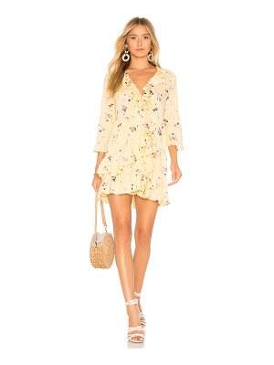 AUGUSTE Desert Dandelion Grace Mini Dress