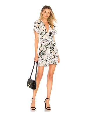 AUGUSTE Gardenia Goldie Mini Dress