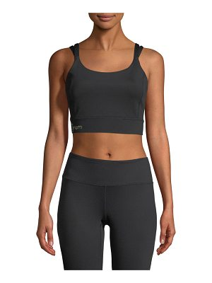 Aurum Gratitude Crop Performance Tank