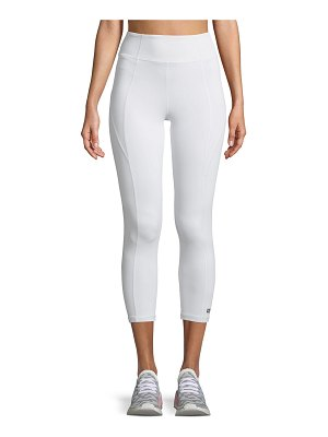 Aurum Paneled High-Rise Cropped Leggings