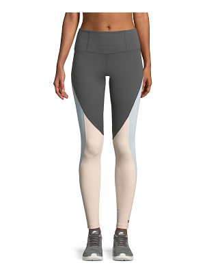 Aurum Serenity Colorblock Full-Length Leggings