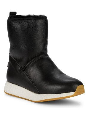 Australia Luxe Collective Beach Shearling & Leather Bootie Sneakers