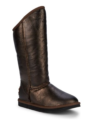 Australia Luxe Collective Cosy Metallic Shearling Tall Boots