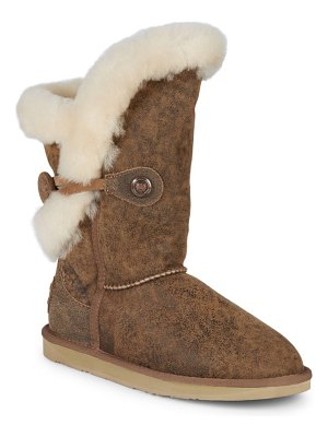 Australia Luxe Collective Nordic Shearling & Suede Short Boots