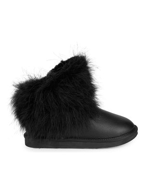Australia Luxe Collective Shearling-Lined Leather Booties