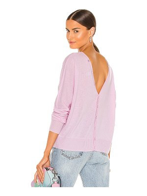 Autumn Cashmere button back dolman sweater