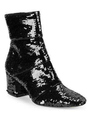 AVA & AIDEN Classic Sequin Booties
