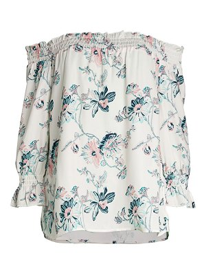 AVA & AIDEN Off-The-Shoulder Floral Top