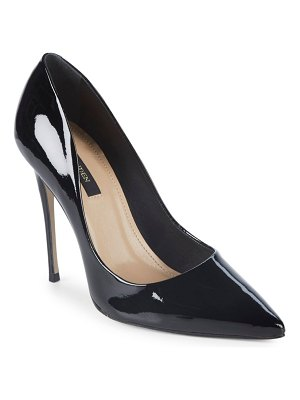 AVA & AIDEN Patent Leather Point Toe Pumps