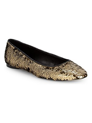 AVA & AIDEN Sequence Sequin Flats
