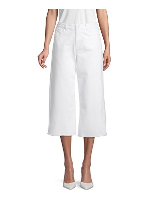 AVA & AIDEN Solid Wide-Leg Jeans