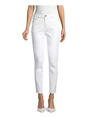 AVA & AIDEN Straight-Fit High-Rise Jeans