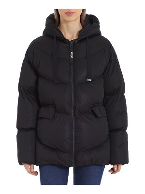 AVEC LES FILLES Oversized Quilted Puffer Coat