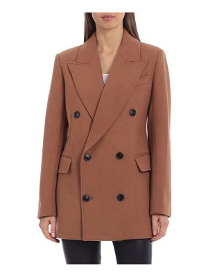 AVEC LES FILLES tailored double breasted coat