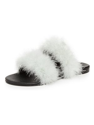 Avec Moderation ibiza slide sandals