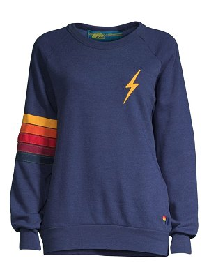 Aviator Nation bolt stitch sweatshirt