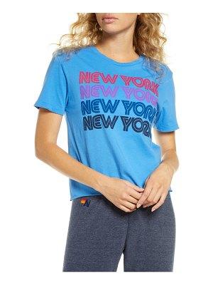 Aviator Nation new york repeat graphic boyfriend tee